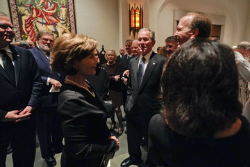 Neil Bush Family And Friends Attend A Funeral Service For Pres. George H.W. Bush In Houston