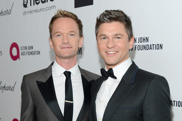 Neil Patrick Harris David Burtka Elton John AIDS Foundation Oscar Viewing Party — Part 6