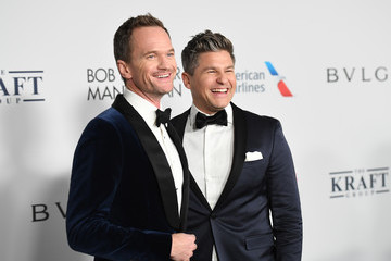 Neil Patrick Harris David Burtka Elton John AIDS Foundation Commemorates Its 25th Year and Honors Founder Sir Elton John During New York Fall Gala - Inside