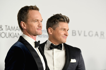 Neil Patrick Harris David Burtka The Elton John AIDS Foundation's Annual Fall Gala With Cocktails by Clase Azul Tequila