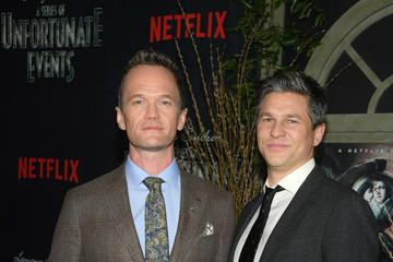 Neil Patrick Harris David Burtka 'Lemony Snicket's A Series of Unfortunate Events' Screening