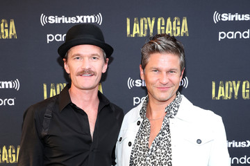 Neil Patrick Harris David Burtka SiriusXM + Pandora Present Lady Gaga At The Apollo