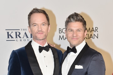 Neil Patrick Harris David Burtka Elton John AIDS Foundation Commemorates Its 25th Year and Honors Founder Sir Elton John During New York Fall Gala - Arrivals