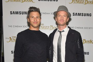 Neil Patrick Harris David Burtka Disney With The Cinema Society & Samsung Host a Screening of 'The Jungle Book' - Arrivals