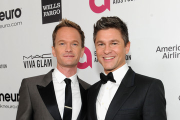 Neil Patrick Harris David Burtka Elton John AIDS Foundation Oscar Viewing Party — Part 7