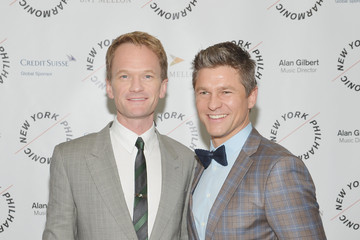 Neil Patrick Harris David Burtka The New York Philharmonic Spring Gala