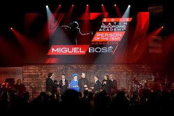 Neil Portnow Miguel Bose 2013 Latin Recording Academy Person Of The Year Honoring Miguel Bose - Show