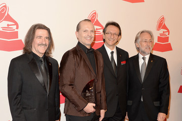 Neil Portnow Miguel Bose Miguel Bose Honored in Las Vegas