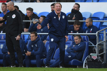 Neil Warnock Cardiff City v Fulham FC - Premier League