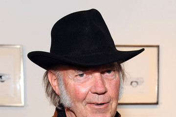 "Neil Young Neil Young Opening Night Reception For ""Special Deluxe"" Art Exhibition"