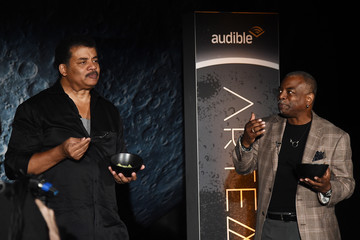 Neil deGrasse Tyson Audible Presents 'Artemis Journey to the Moon' at Hudson River Park's Classic Car Club in New York