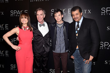 Neil deGrasse Tyson The Cinema Society Hosts a Screening of 'The Space Between Us' - Arrivals