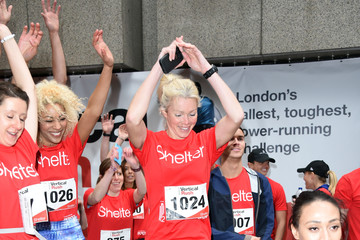 Nell McAndrew Celebrities Take Part In The Shelter: Vertical Rush