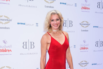 Nell McAndrew The Caudwell Children Butterfly Ball - Red Carpet Arrivals