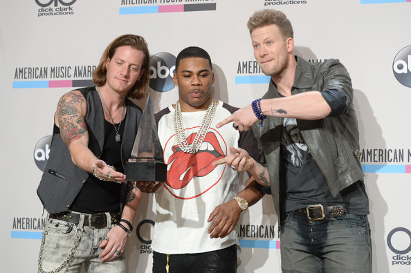 Press Room at the American Music Awards  []