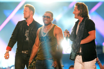 Nelly Brian Kelley The CMT Music Awards in Nashville