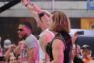 """Nelly Tyler Hubbard Florida Georgia Line And Nelly Perform On NBC's """"Today"""" Labor Day Concert"""