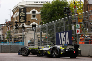 Nelson Piquet 2015 FIA Formula E Visa London ePrix Championship - Day Two