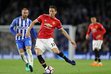 Nemanja Matic Brighton And Hove Albion Vs. Manchester United - Premier League