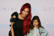 Farrah Abraham and Sofia Abraham attend the Neon Los Angeles premiere of 'Gemini' on March 15, 2018 in Los Angeles, California.