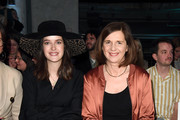 (L-R) Marie Nasemann and Katrin Goering-Eckardt attend the Neonyt show during Berlin Fashion Week Autumn/Winter 2020 at Kraftwerk Mitte on January 14, 2020 in Berlin, Germany.
