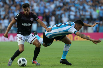Nery Dominguez Racing Club v Lanus - Superliga 2017/18