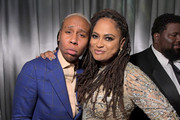 Lena Waithe and Ava DuVernay attend the 2019 Netflix Primetime Emmy Awards After Party at Milk Studios on September 22, 2019 in Los Angeles, California.