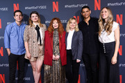 """Todd Downing, Chris Teague, Leslye Headland, Natasha Lyonne, Amy Poehler, Charlie Barnett and Brienne Rose attend Netflix's FYSEE event for """"Russian Doll"""" at Netflix FYSEE At Raleigh Studios on June 09, 2019 in Los Angeles, California."""