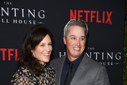 """Annabeth Gish and Wade Allen attend Netflix's """"The Haunting Of Hill House"""" Season 1 Premiere - Arrivals at ArcLight Hollywood on October 8, 2018 in Hollywood, California."""