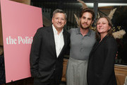 (L-R) Netflix Chief Content Officer Ted Sarandos, Ben Platt and Netflix VP, Original Series Cindy Holland attend Netflix's 'The Politician' - LA Tastemaker at San Vicente Bungalows on July 23, 2019 in West Hollywood, California.