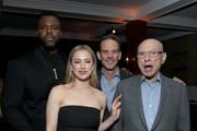 (L-R) Winston Duke, Iliza Shlesinger, Peter Berg, and Alan Arkin attend the Netflix Premiere Spenser Confidential After Party at Westwood Village Theatre on February 27, 2020 in Westwood, California.