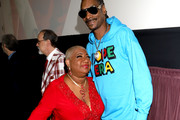 "(L-R) Luenell and Snoop Dogg attends the ""Dolemite Is My Name"" premiere presented by Netflix on September 28, 2019 in Los Angeles, California."