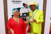 "(L-R) Luenell and Don ""Magic"" Juan attend the ""Dolemite Is My Name"" premiere presented by Netflix on September 28, 2019 in Los Angeles, California."