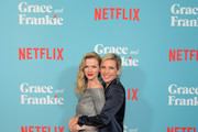 """(L-R) Brooklyn Decker and June Diane Raphael attend a special screening of """"Grace and Frankie Season 6"""", presented by Netflix, on January 15, 2020 in Los Angeles, California."""