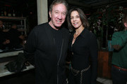 Tim Allen (L) and  Jane Hajduk attend Netflix's Queer Eye premiere screening and after party on February 7, 2018 in West Hollywood, California.
