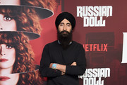 "Waris Ahluwalia attends Netflix's ""Russian Doll"" Season 1 Premiere at Metrograph on January 23, 2019 in New York City."