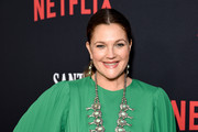 "Drew Barrymore attends Netflix's ""Santa Clarita Diet"" Season 3 Premiere at Hollywood Post 43 on March 28, 2019 in Los Angeles, California."