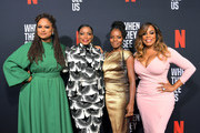 Ava DuVernay, Aunjanue Ellis, Marsha Stephanie Blake and Niecy Nash attend Netflix's 'When They See Us' Screening & Reception at Paramount Theater on the Paramount Studios lot on August 11, 2019 in Hollywood, California.