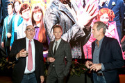 """Barry Sonnenfeld, Neil Patrick Harris and Bo Welch attend Netflix's """"A Series of Unfortunate Events"""" Red Carpet and Reception at Netflix Home Theater on March 10, 2019 in Los Angeles, California."""