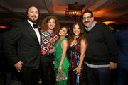 """(L-R) Kyle Newacheck, Blake Anderson, Marisa Newacheck and Erik Griffin attend the Netflix World Premiere Of """"Murder Mystery"""" after party at Baltaire on June 10, 2019 in Los Angeles, California."""