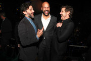 Oscar Isaac, Keegan-Michael Key and Pedro Pascal attend Netflix World Premiere of TRIPLE FRONTIER at Lincoln Center on March 03, 2019 in New York City.