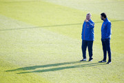 Ruud van Nistelrooy and Guus Hiddink Photos Photo