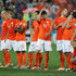 Klaas Jan Huntelaar Daley Blind Photos - The Dutch team react during the penalty shootout with Argentina during the 2014 FIFA World Cup Brazil Semi Final match between the Netherlands and Argentina at Arena de Sao Paulo on July 9, 2014 in Sao Paulo, Brazil. - Netherlands v Argentina