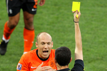 Alberto Undiano Netherlands v Slovakia: 2010 FIFA World Cup - Round of Sixteen