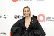 Sharon Stone attends Neuro Brands Presenting Sponsor At The Elton John AIDS Foundation's Academy Awards Viewing Party on February 09, 2020 in West Hollywood, California.