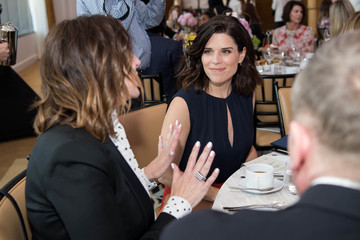 Neve Campbell Los Angeles Confidential Women of Influence Tea Hosted by Neve Campbell