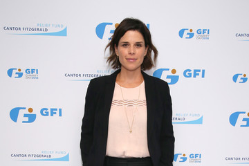 Neve Campbell Annual Charity Day Hosted By Cantor Fitzgerald, BGC and GFI - GFI Office - Arrivals