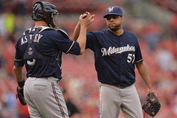 Nevin Ashley Milwaukee Brewers v St Louis Cardinals