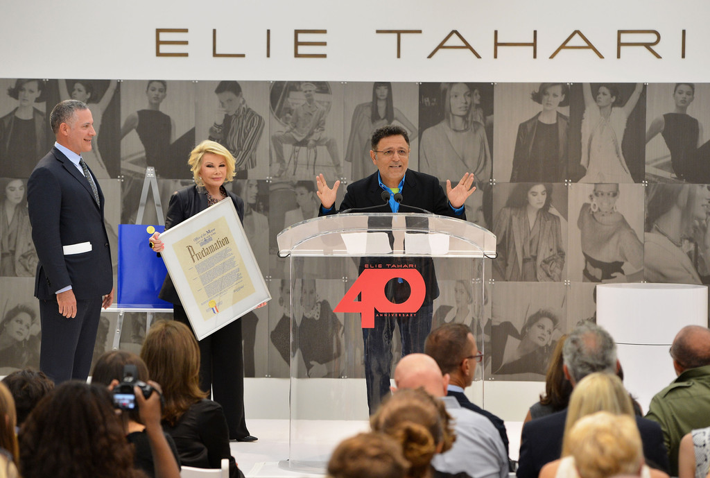 Robert Goldrich Pictures - Celebs at NYC's Elie Tahari Day - Zimbio