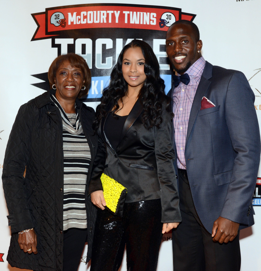 Devin McCourty and Michelle Powell s s Zimbio